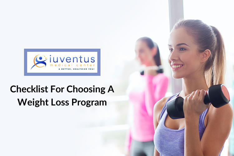 Checklist for Choosing a Weight Loss Program