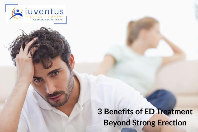 3 Benefits of ED Treatment Beyond Strong Erection